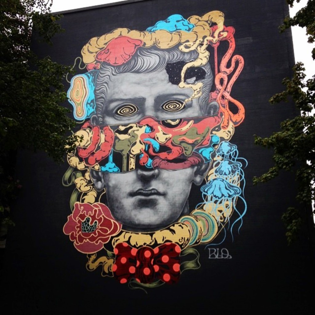 Marble Giant Mural by BLO