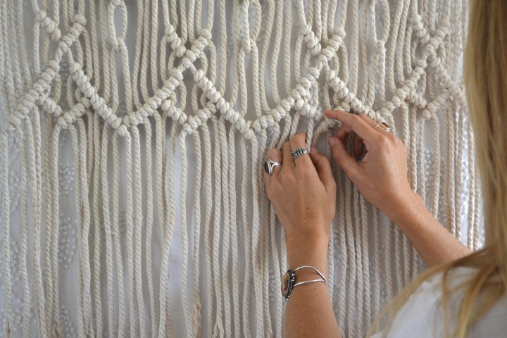 Hannah Henderson: Movement Through Macrame