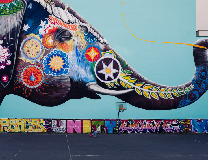 A Tour Of Berlin's Rich Street Art and History