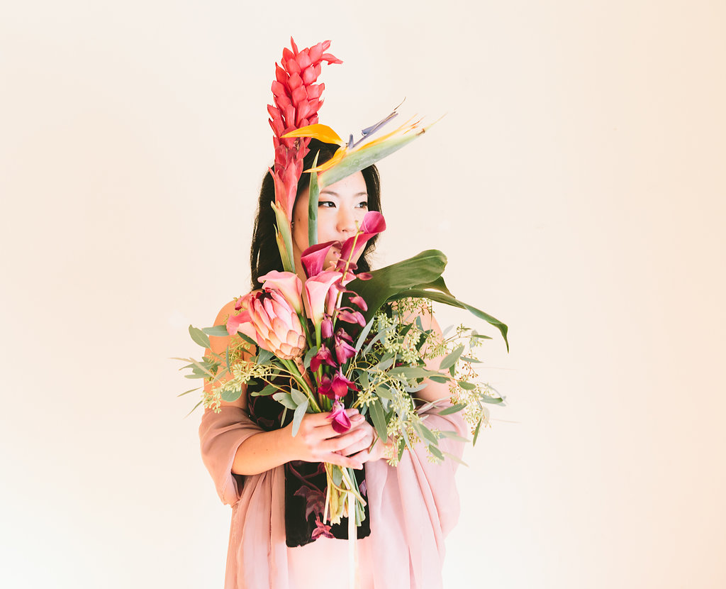 Capturing A Woman's Rise Through Stunning Flower Portraits