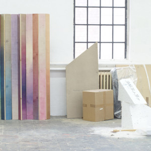 How Bare Wood Metamorphoses into Colorful Panels